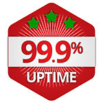 Guaranteed 99.9% online at all times